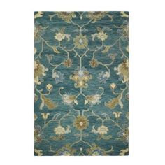 Home Decorators Collection Montpellier Teal 5 ft. 3 in. x 8 ft. 3 in. Area Rug - 1997620330 - The Home Depot