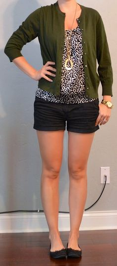 Outfit Posts. To inspire color with black/white tops.