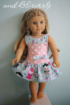 You can now follow me on Instagram! @andbeeverly More 18 inch doll dresses in the shop! Perfect for Summer!