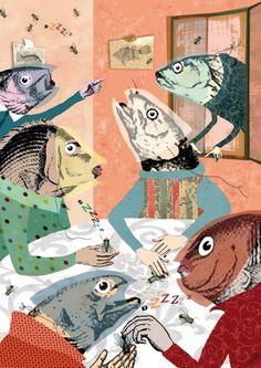 Noise « Topics « Illustration Friday