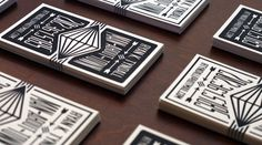 30 Fresh Cool Business Card Designs | Web & Graphic Design | Bashooka