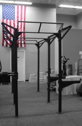 "CFF 14' ""BASE"" Rig Pull up Rig and Rack System- Great for Cross Training"