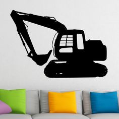 Awesome Digger v2 Wall Sticker