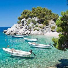 Бирюзововые воды Хорватии! #JoyTravelGroup #путешествия #Брела #Хорватия #отдых