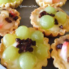 Tartellette alla frutta con pasta frolla senza burro!