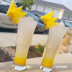 Check out the Majestic. If you are in the mood for a tropical drink that'll revitalize your afternoon, this is it! The tropical liquors mixed with lemon juice and Sprite, will give you that extra afternoon kick you need! For the recipe, visit us here: http://www.tipsybartender.com/blog/majestic