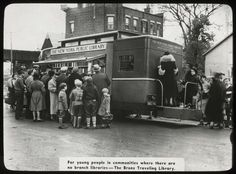 The Bronx Traveling Library, 1938.