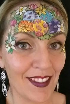 Face Painting Easter Crown