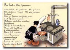 LE CORRE Mam-Goz Recette du Far Breton