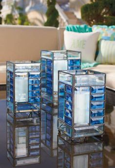 Our imaginative Contempo Luminaries will have you seeing candles in a whole new light.