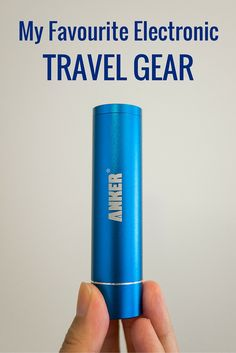 Modern-day travel calls for modern devices. Here's a list of electronic travel gear you can pack for your next weekend jaunt or long-haul trip.