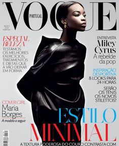 Maria Borges in Vogue Portugal, May 2014