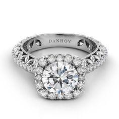 Danhov Flora Engagement Ring   Danhov Engagement Rings   JR Jewelers