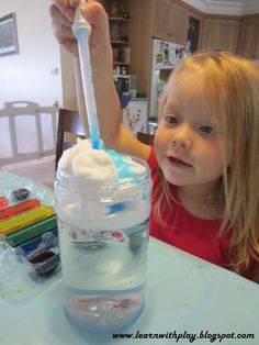 This blog is an excellent source for preschool/early childhood teachers.  Lots of science projects for kids & ideas to make learning time play time.