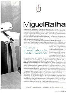Entrevista com Miguel Ralha, fundador da MISSOM