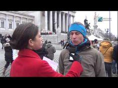 Globale Friedensmahnwache in Wien (klagemauer.tv)