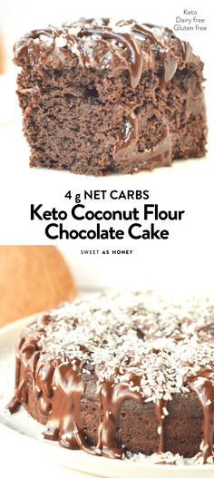 sweetashoney chocolate coconut flour paleo cake keto Coconut flour chocolate cake keto paleo SweetashoneyYou can find Keto cake and more on our website Coconut Flour Chocolate Cake, Coconut Flour Cakes, Coconut Flour Recipes, Low Carb Chocolate Cake, Cake Recipe Using Coconut Flour, Coconut Flour Baking, Keto Chocolate Recipe, Vegan Chocolate, Almond Flour