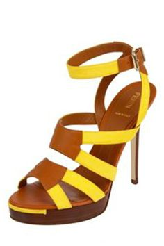 Fendi Strappy Rio Sandal, $820, available at Marissa Collections.
