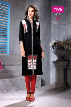 77f05f5c47 HIVA introduces DIVA Catalogue, kurtis which are made up of Rayon, best for  this season.