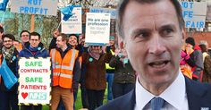 IIf Scotland.Wales and Northern Ireland Don't see the need for these changes why does Jeremy Hunt ?? t's the third strike in three months - but the public still put the blame squarely at the Health Secretary's door
