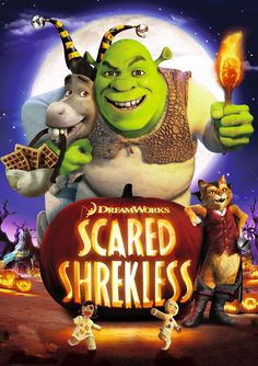 """Scared Shrekless - Halloween television special, set shortly after the events of """"Shrek Forever After"""" movie (21 min), 2010"""