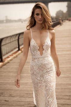 World Exclusive: Berta Wedding Dress Collection 2018 Lace Wedding Dress, Sexy Wedding Dresses, Bridal Dresses, Lace Dress, Berta Bridal 2018, Bridal Collection, Dress Collection, Couture Collection, Spring Dresses