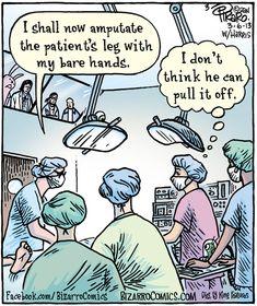 Elderly Underwear Surgeon Evolution Cat Foot   Bizarro Blog!