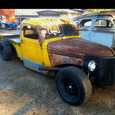 I want a rat rod truck like this!