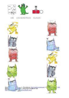 RECURSOS Y ACTIVIDADES PARA EDUCACIÓN INFANTIL: EL MONSTRUO DE COLORES (Anna Llenas) Social Skills, Blog, Education, Halloween, Pedi, Albums, Colour, Google, Activities For Students