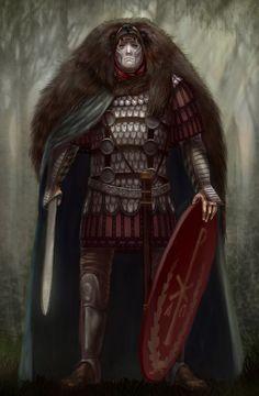 Centurion by Simulyaton on DeviantArt Fantasy Armor, Dark Fantasy Art, Ancient Rome, Ancient History, Irish Mythology, Roman Centurion, Roman Legion, Greek Warrior, Roman Soldiers