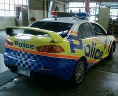 Australia Police Car