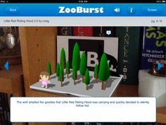 ZooBurst - a cool iPad app for creating a 3D digital story
