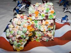 Trix Krispies. Replace those Rice Krispies with another gluten free treat!