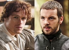 SO glad he didn't get this role - Outlander's Sam Heughan Auditioned for Game of Thrones 7 Times! Find Out Who He Almost Played  Sam Heughan, Outlanders Gethin Anthony, Game of Thrones