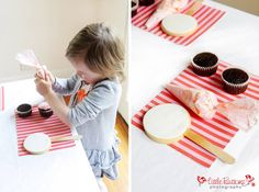 Little Big Company | The Blog: Cake Decorating Birthday Party by Bronnie Bakes