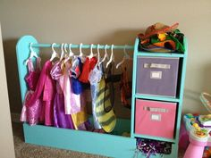 The perfect Dress Up Storage