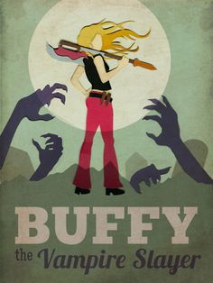 A Buffy poster I created for Illustration Showdown. Buffy has always been a show close to my heart. I grew up watching it and still cycle th...