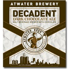 Decadent Chocolate Ale by Atwater Brewery. About as good a chocolate ale as you can find. Stouts have more chocolate flavor, but this is much lighter. A great choice for those to whom a stout is too intense.