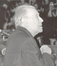 Doctor Honoris Causa. Jorge Luis Borges.Nombrado el 11 de noviembre de 1985.  http://www.um.es/web/universidad/doctores-honoris-causa/jorge-luis-borges
