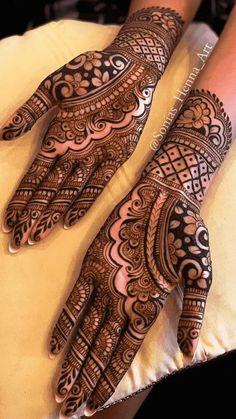 Wedding Henna Designs, Mehndi Designs Front Hand, Modern Henna Designs, Latest Henna Designs, Engagement Mehndi Designs, Stylish Mehndi Designs, Full Hand Mehndi Designs, Mehndi Designs For Girls, Dulhan Mehndi Designs