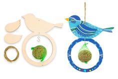 5a901a46b58eaf Mangeoires pour oiseaux + boules de graisse - Lot de 6 - Kits activités  Nature -