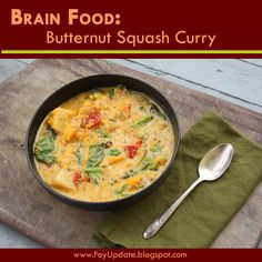 Butternut Squash Curry - Wahls Paleo Recipe (no rice for whole30)