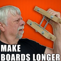 Tips & Tricks for Making Boards Longer / End-to-End Woodworking Joints. #woodworking Japanese Woodworking, Woodworking Joints, Woodworking Workshop, Woodworking Furniture, Woodworking Plans, Woodworking Techniques, Woodworking Magazine, Wooden Furniture, Furniture Plans