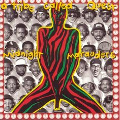 A Tribe Called Quest, Midnight Marauders (1993) - The 50 Best Hip-Hop Album Covers | Complex