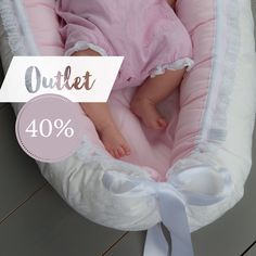 OUTLET 40%  BABYNEST.NO — Did you know that a babynest creates the similar comfort of being in mommy's tummy, safe and happy   Now you can get babynest Classic Pink and Classic Black to a 40% discount ✨ The OUTLET variants are selling out in a hurry!  We ship the same day if the order is made before 12.00 and within the next day if your order is made after 12.00  Super quick delivery!  We wish you a happy and adorable week