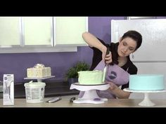 Do you struggle smoothing a buttercream cake - fixing one blemish while causing another? The Wilton Icing Smoother video could change the way you ice buttercream cakes.