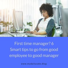 First time manager? 6 Smart Tips to go from good e… (scheduled via http://www.tailwindapp.com?utm_source=pinterest&utm_medium=twpin)