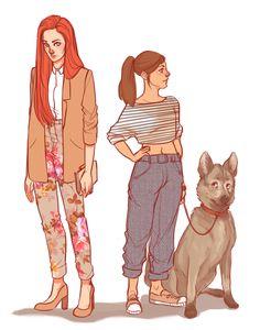 Modern Starks by batcii on DeviantArt