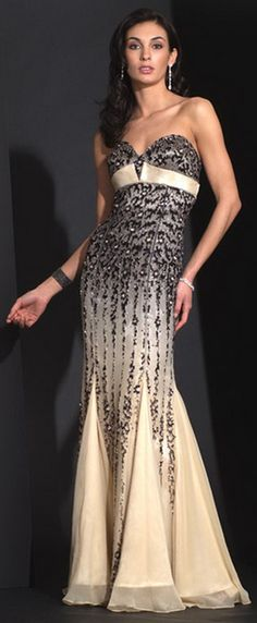 Alyce Designs Black Label Couture Dress http://www.brideshop-online.com/floor-length-bridesmaide-dress-bd2011-p-7054.html
