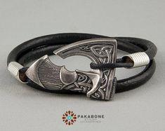 Axe Bracelet Wristband With Big Axe Bracelet With Axe